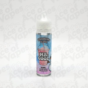 Strawberry Slush Shortfill E-Liquid By Mr Cool