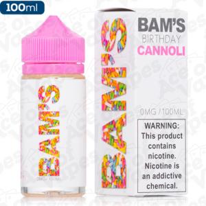 Birthday Shortfill E-Liquid By Bam's Cannoli