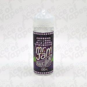 Blackcurrant Shortfill E-Liquid By Mr Jam